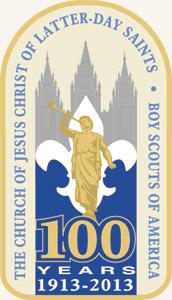 Scouting centennial logo