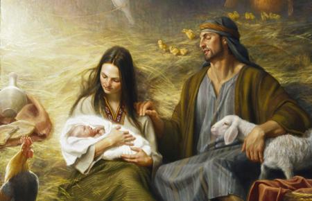 Focusing on Christ at Christmas - New Era Dec. 2013 - new-era