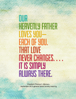 card about Heavenly Father