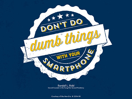 dumb things wallpaper