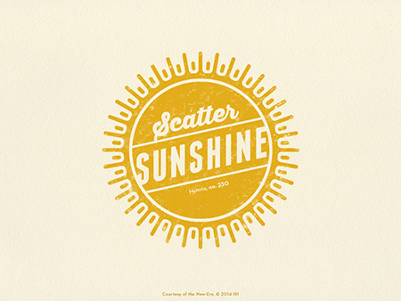 scatter sunshine wallpaper
