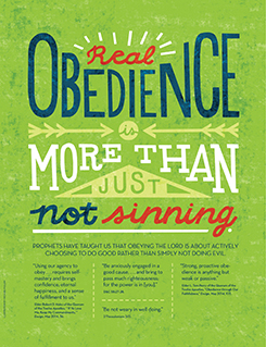 obedience poster