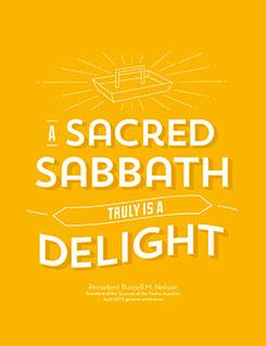 Sabbath card