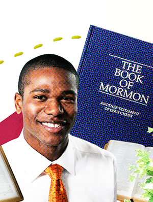 missionary and Book of Mormon
