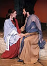 Mary talks with Joseph