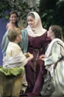 Mary comforts Joshua and Rebecca