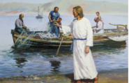 Jesus Fills the Nets with Fish