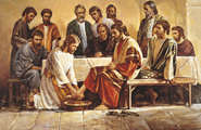 Jesus Washing the Apostles' Feet