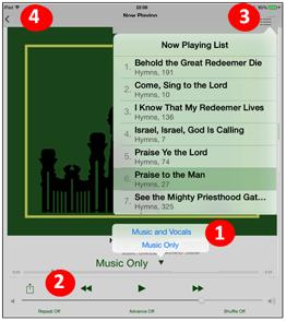 LDS Music App Help