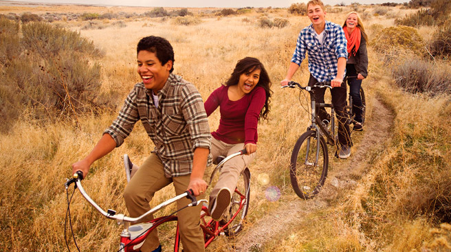 Noncompetitive Physical Activities Youth Activities